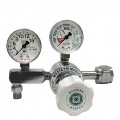 """Regulador de oxígeno conexión CGA-540 2-15LPM manometros de 2"""""""